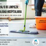 OPERARIO/A DE LIMPIEZA: ESPECIALIDAD HOSPITALARIA (32h)