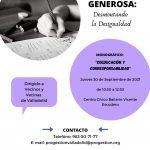 MONOGRÁFICO EN VALLADOLID: COEDUCACIÓN Y CORRESPONSABILIDAD
